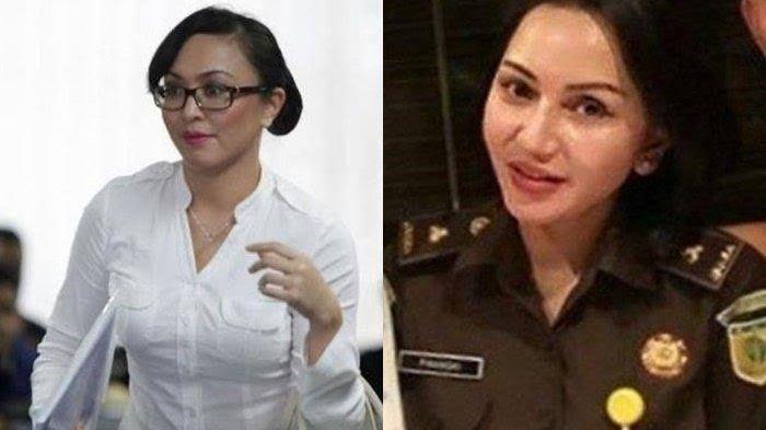 Angelina Sondakh dan Jaksa Pinangki (Tribunnews)