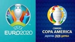 Genderang dua kompetisi akbar sepakbola antar negara sudah ditabuh, EURO 2020 dan Copa America 2021 | Sumber gambar :  Lowyat.Ne via www.indosport.com