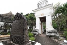 Kompleks makam Bupati I Gresik searea dengan makam Syeh M.Ibrahim (disparbud.gresikkab.go.id)