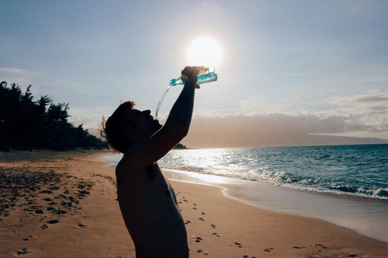Konsumsi akan air putih menjadi sorotan kembali setelah aksi Cristiano Ronaldo (Olya Adamovich/Pixabay)