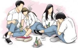 Ilustrasi remaja yang hidup dalam pergaulan bebas. Foto: teropong.id.