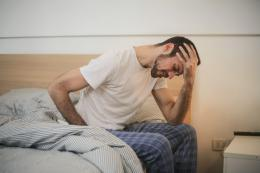 Ilustrasi stres bisa menyebabkan sembelit/susah BAB.