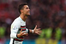 Cristiano Ronaldo. (via theathletic.com)