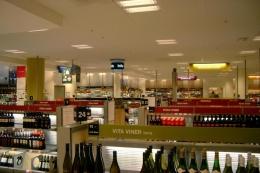 Systembolaget, toko khusus minol di Swedia. Sumber: svenf / wikimedia