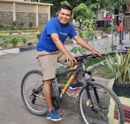 foto.dok.pribadi/bersepeda