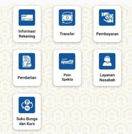 Dokpri_tampilan Mobile Banking salah satu Bank
