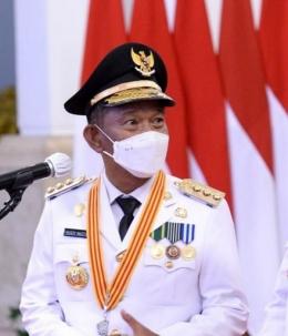 Gubernur terpilih Rusdy Mastura. Doc Biro Pers Sekertariat Presiden