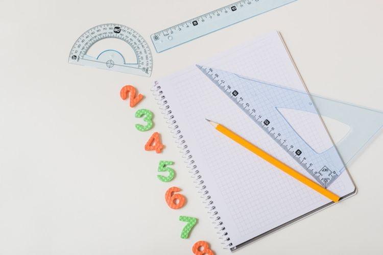 Ilustrasi belajar matematika.(FREEPIK/BAUDUCCO via kompas.com)
