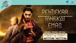 Ada Pendekar Tongkat Emas yang dibintangi Reza Rahadian dan Nicholas Saputra (sumber: FanforceTV)