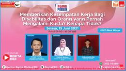 poster kegiatan (dok. KBR Indonesia)