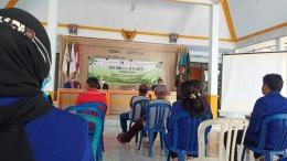 Dokumentasi KKN UM Desa Bangelan. Penyampaian Sambutan