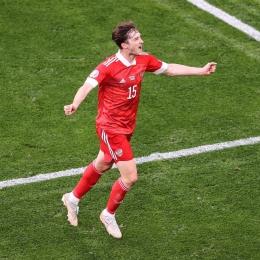 Selebrasi Aleksey Miranchuk setelah berhasil mencetak gol ke gawang Rusia | www.instagram.com/euro2020