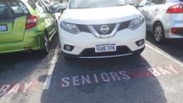 Dokumentasi pribadi /ket. foto: mobil Nissan Xtrail yang saya kemudikan