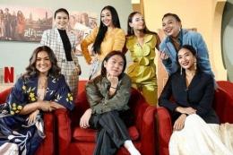 Para pemeran film (sumber: Kompas.com)