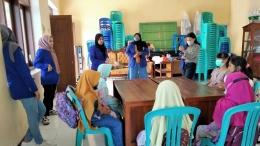 Gambar 1. Sesi Perkenalan Mahasiswa dengan Peserta Bimbingan Belajar/Dokpri