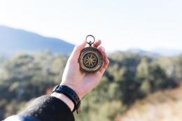 Ilustrasi kompas (Sumber gambar: Pixabay/Pexels)