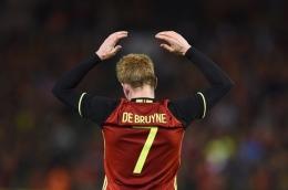 (De Bruyne Pencetak Gol Kemenangan Belgia Dok: satupedia.com)