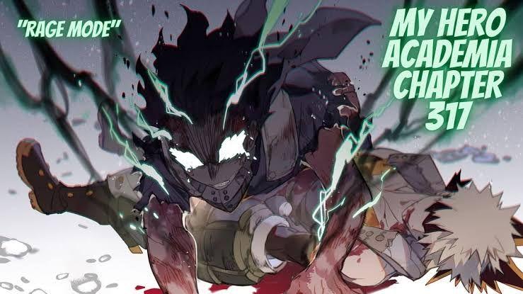 "Deku dalam ""Rage Mode"" miliknya di My Hero Academia chapter 317 - omnitos.com"