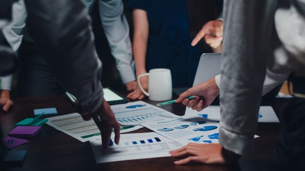 Ilustrasi Business Model Canvas (sumber Freepik)