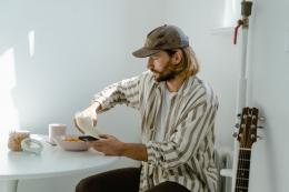 Ilustrasi sarapan di pagi hari. Sumber: pexels.com
