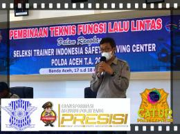 Supaya, siapa pun yang terpilih nanti bisa menjadi trainer Polda Aceh yang handal. Doc Chandra 18/6/21
