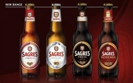 Sagres, salah satu bir terkenal dari Portugal. Sumber: www.drinkedin.net
