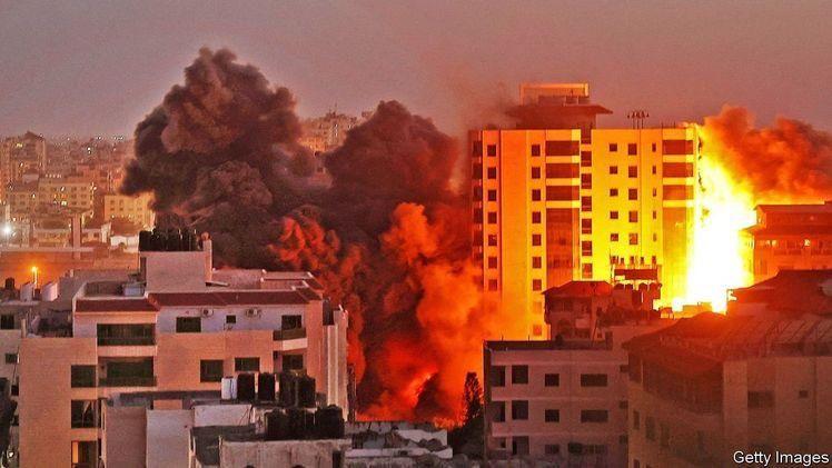 Konflik Palestina-Israel menyebabkan kerugian besar bagi kedua belah pihak, baik dari segi korban maupun ekonomi, sumber: The Economist
