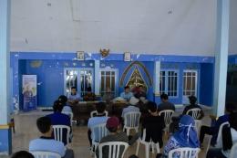 Kegiatan penutupan dan pembukaan KKN desa Sumberbening 2021 kecamatan Bantur kabupaten Malang (Minggu, 30/05/2021) / dokpri
