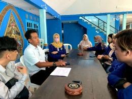 Kegiatan konsultasi dengan perangkat desa (Rabu, 16/06/2021) / dokpri