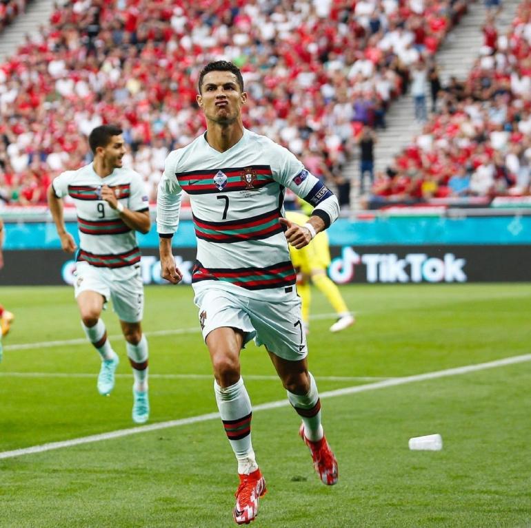 Cristiano Ronaldo dkk ingin membalaskan luka lama kepada Jerman. Instagram Cristiano