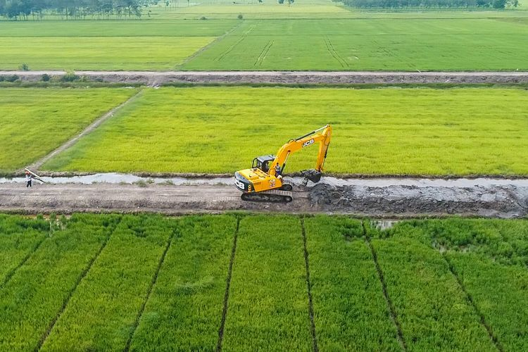 Ilustrasi lahan pertanian.(Dok Humas Kementan)