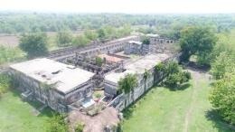 Keterangan: Nampak bangunan benteng secara menyeluruh yang diambil dari atas./Foto: Nugrohosugiharto