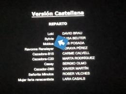 Credit title pengisi suara serial Loki versi Castellana. Sumber : twitter.com/lotrkenobi