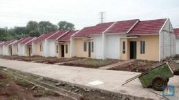 Ilustrasi rumah subsidi. Gambar: cnbcindonesia.com