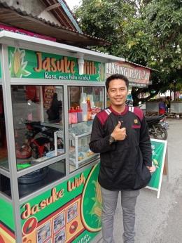 M. Amirul Ramli Seorang mahasiswa sekaligus owner dari usaha kuliner Jasuke Wiih / dokpri