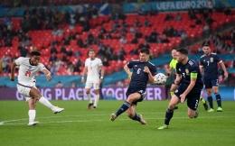 Duel Antara Inggris vs Skotlandia Dilaga Euro 2020 . Sumber: UEFA Euro 2020