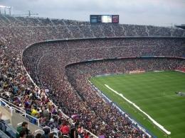 Ilustrasi pertandingan sepak bola (pexels.com)