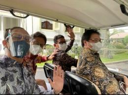 Sandi sopir dadakan baru para Menteri Kabinet Indonesia Maju (ist)