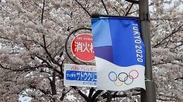 Tokyo 2020 dan Sakura (dokumentasi pribadi)
