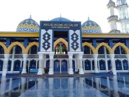 Suasana Masjid Agung As-Salam Lubuk Linggau (01/06)/dokpri