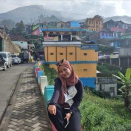 Gambar: Spot foto pertama Ketika memasuki Nepal van java/Dokpri