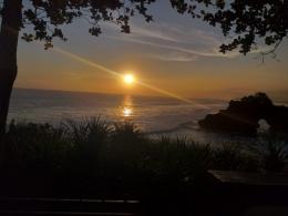 Sunset di sekitaran Tanah Lot/Dokpri
