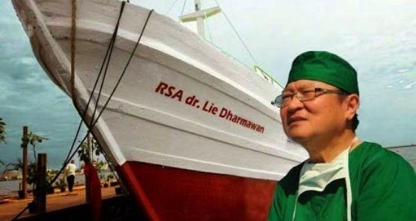 Rumah Sakit Apung Doctorshare Karam, Ini Kisah Inspiratif dr. Lie Dharmawan (toptime.co.id)