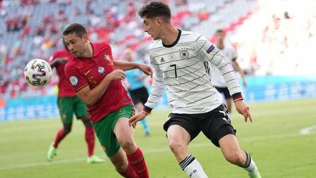 Lukas Havertz membawa Jerman menenggelamkan Portugal (4-2) Grup F Euro 2020 di stadion Allianz Arena, Munich. Beritasatu.com