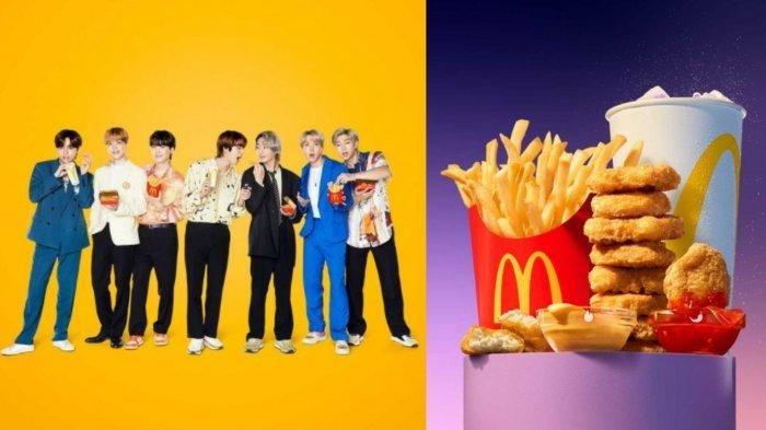 BTS Meal (Sumber: Tribunnews/Instagram @mcdonaldsid)