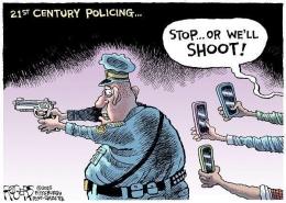 Suatu ilustrasi dari praktik citizen journalism yang diberi nama