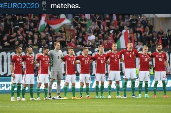 Tim Hongaria. Sumber:bolasport.com