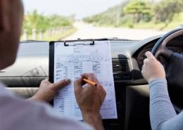kursus mengemudi (Kompas.com/Fathan Radityasani)