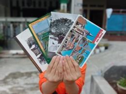 bagian belakang kartu pos | sumber: dokumentasi pribadi
