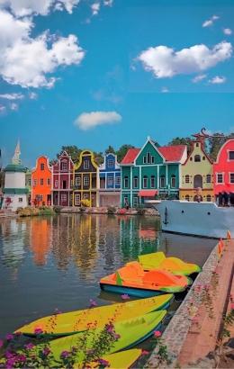 Destinasi wisata baru, kampung dengan icon khas Eropa di Kebumen.